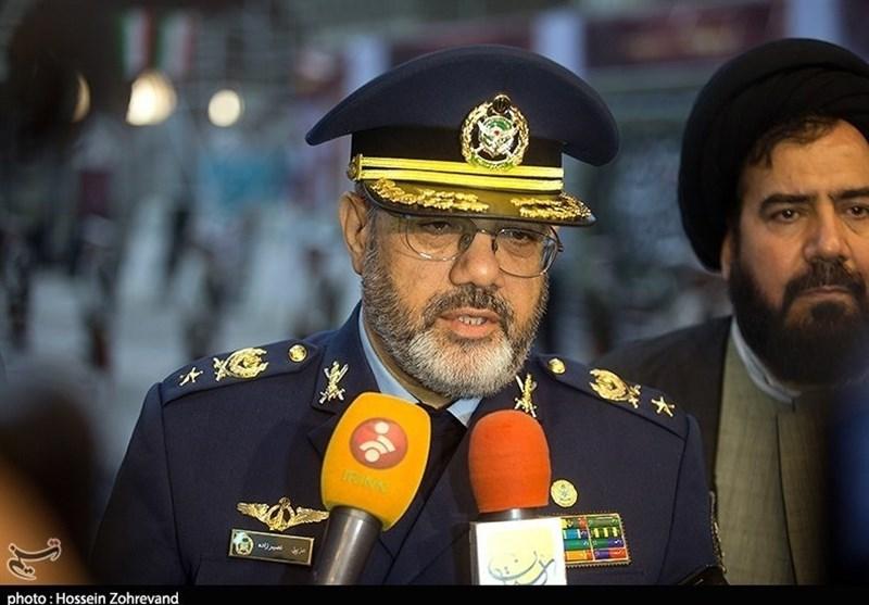 راهپیمایی22 بهمن 97|امیرنصیرزاده: با تمام قدرت توان دفاعی خود را حفظ خواهیم کرد