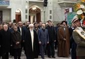 رئیس رسانهملی در حرم امام(ره): زنده ماندن انقلاب اسلامی مسئولیت ما را سنگینتر کرده است