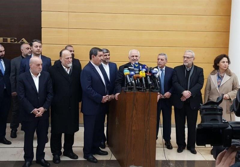 ظریف: ایران آماده همکاری با لبنان در همه زمینههاست