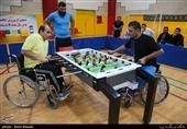 برگزاری دومین اردوی تیم فوتبال روی میز معلولان