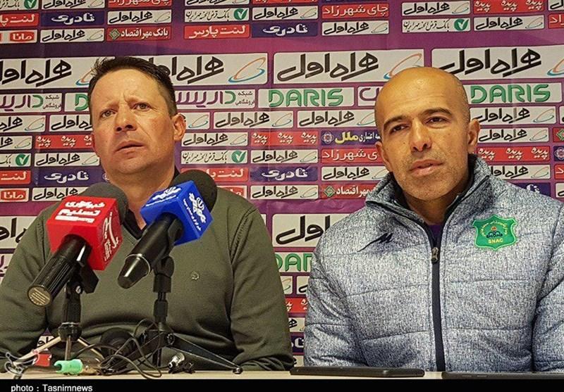 تبریز| سرجیو: تفاوت دو تیم در یک ضربه ایستگاهی بود