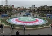 شهر رشت در چهلمین سالگرد پیروزی انقلاب به روایت تصویر