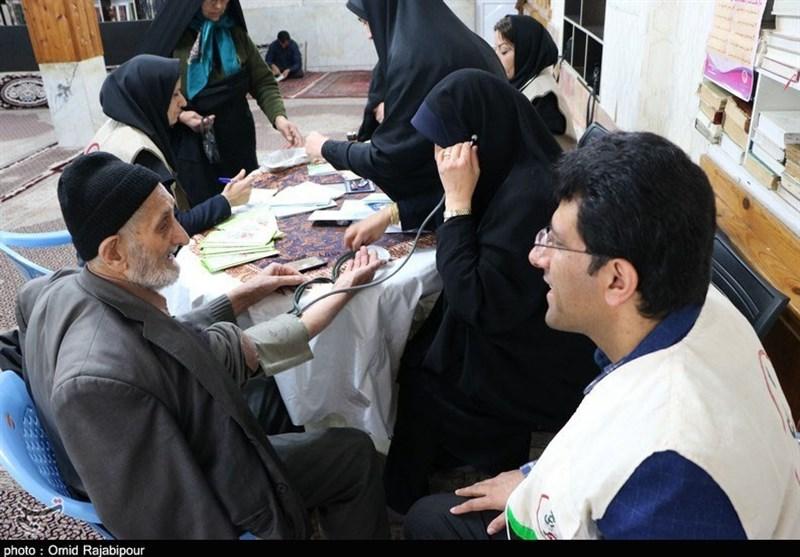 240 نفر توسط خادمیاران سلامت رضوی در کرمانشاه ویزیت رایگان شدند