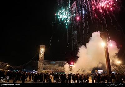 مراسم نورافشانی و بانگ الله اکبر به مناسبت پیروزی انقلاب اسلامی