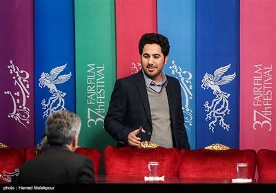 هادی بهروز مدیر فیلمبرداری در نشست خبری فیلم «ماجرای نیمروز، رد خون» - سیوهفتمین جشنواره فیلم فجر