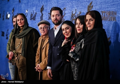 عوامل فیلم «آشفتگی» در سیوهفتمین جشنواره فیلم فجر
