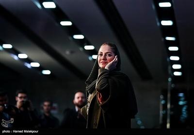 مهناز افشار بازیگر فیلم «آشفتگی» در سیوهفتمین جشنواره فیلم فجر