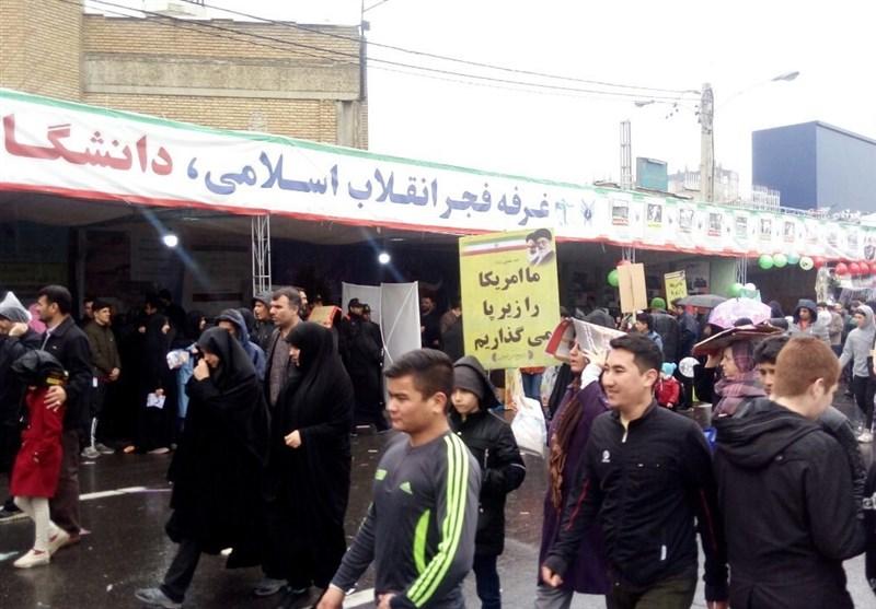 بازتاب راهپیمایی 22 بهمن 97  المیادین: میلیونها ایرانی در چهلمین سالگرد پیروزی انقلاب شرکت کردند