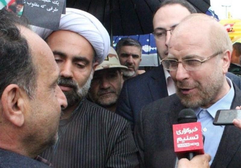 بهمن تماشایی 97| قالیباف: ملت ایران در راهپیمایی 22 بهمن پاسخ دندانشکنی به دشمنان دادند