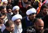 بهمن تماشایی 97| آیتالله نوریهمدانی در جمع راهپیمایان 22 بهمن حضور یافت