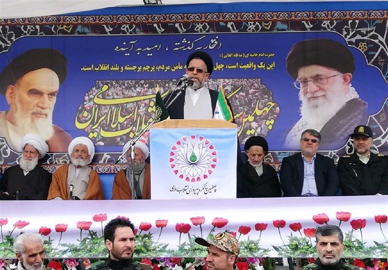 بهمن تماشایی 97| وزیر اطلاعات در بیرجند: انقلاب اسلامی ثمره نهضت فاطمیه است