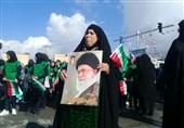 بهمن تماشایی 97 | حضور مرزداران ایلامی در راهپیمایی 22 بهمن + تصاویر