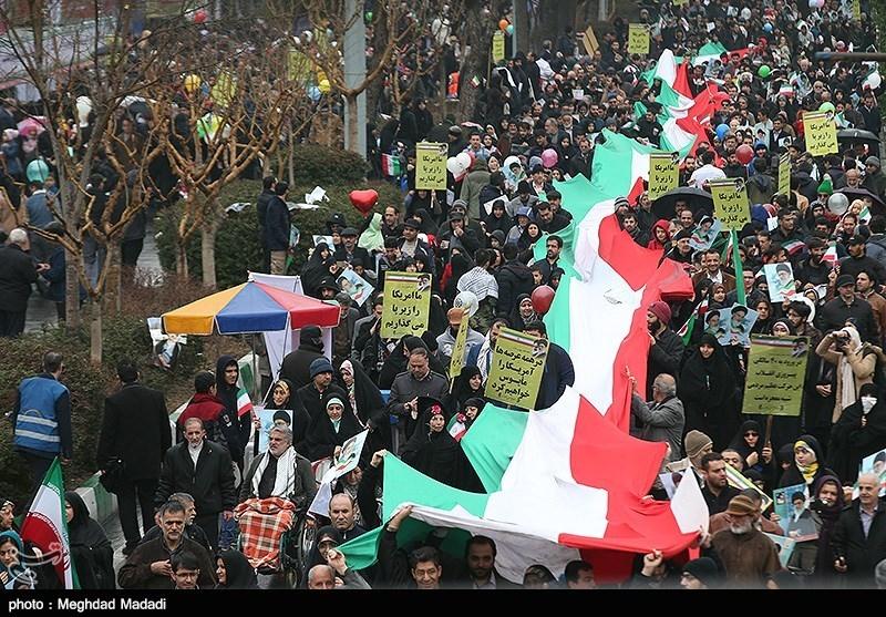 بهمن تماشایی 97| حضور گسترده مردم استان هرمزگان در راهپیمایی 22 بهمن