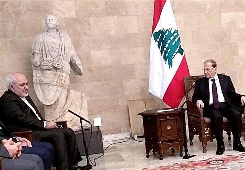 ظریف یلتقی الرئیس اللبنانی