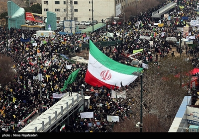 راهپیمایی چهلمین سالگرد پیروزی انقلاب اسلامی ایران در مشهد