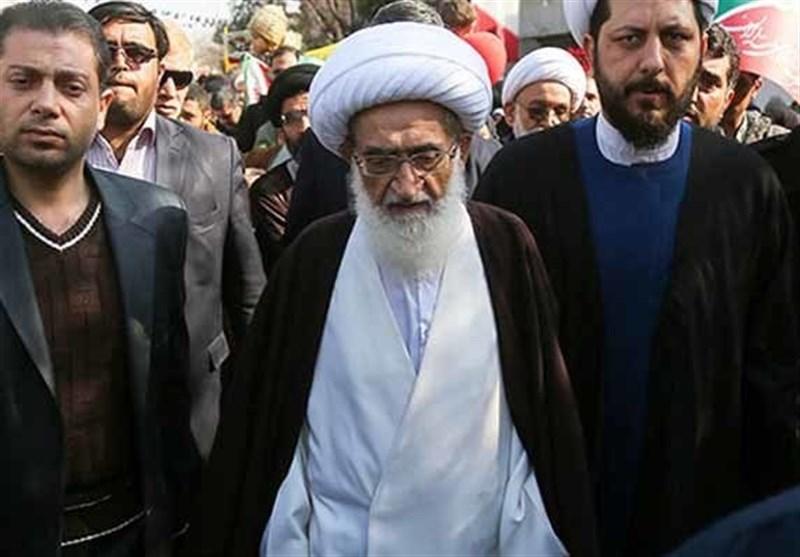 بهمن تماشایی 97| آیتالله نوریهمدانی: ملت ایران هیچگاه آزادیخواهان جهان را تنها نمیگذارند