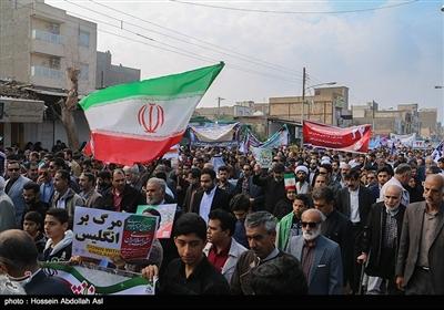 راهپیمایی چهلمین سالگرد پیروزی انقلاب اسلامی ایران در آبادان