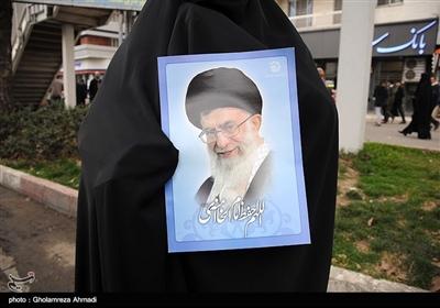 راهپیمایی چهلمین سالگرد پیروزی انقلاب اسلامی ایران درساری