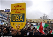 بازتاب راهپیمایی 22 بهمن 97| رویترز: مردم ایران با شعار «مرگ بر آمریکا» چهلمین سالروز انقلابشان را جشن گرفتند