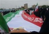 صحنهای که در راهپیمایی 22 بهمن 97 موجب حیرت همگان شد + عکس