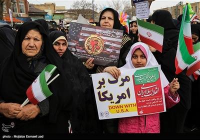 راهپیمایی چهلمین سالگرد پیروزی انقلاب اسلامی ایران در ارومیه