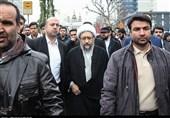 راهپیمایی 22 بهمن 97|رئیس قوهقضاییه: مردم نشان دادند تسلیم فشارها و تهدیدها نمیشوند