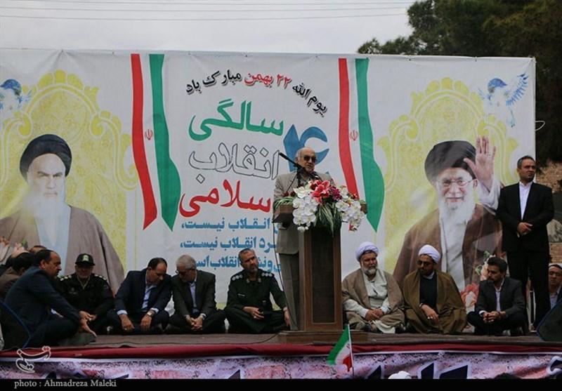 بهمن تماشایی 97| استاندار کرمان: جمهوری اسلامی ایران نماد مردمسالاری و دینسالاری در دنیا است