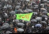 بهمن تماشایی 97| راهپیمایی مردم اردبیل در 40 سالگی انقلاب زیر بارش رحمت الهی به روایت تصویر