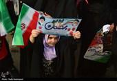 بهمن تماشایی 97| فریاد «الله اکبر» مردم قزوین بر سر آمریکا+تصاویر