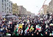 بهمن تماشایی 97| حضور مردم اهواز در راهپیمایی 22 بهمن + تصویر