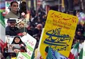 بهمن تماشایی 97| نمایش دیدنی و اقتدارآفرین مردم دیار میرزاکوچکخان در یومالله 22 بهمن+فیلم