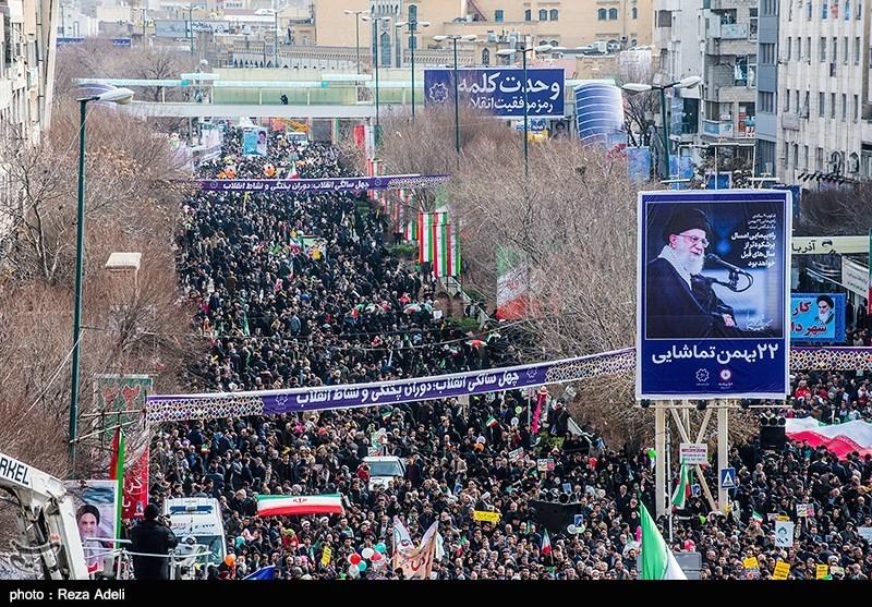 راهپیمایی چهلمین سالگرد پیروزی انقلاب اسلامی ایران در تبریز