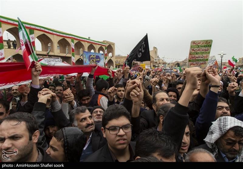 بازتاب راهپیمایی 22 بهمن 97  تله سور: میلیون ها ایرانی سالروز سقوط دیکتاتوری مورد حمایت آمریکا را جشن گرفتند