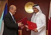 رایزنی وزیران خارجه قطر و فرانسه درباره سوریه و لیبی