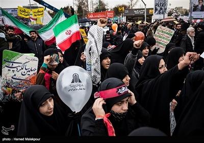 راهپیمایی چهلمین سالگرد پیروزی انقلاب اسلامی در تهران
