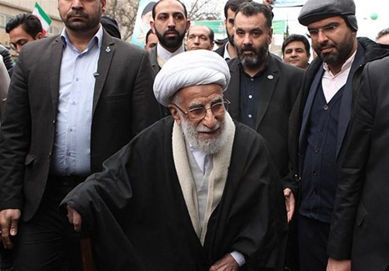 راهپیمایی 22 بهمن 97|حضور آیتالله جنتی و کدخدایی در راهپیمایی تهران