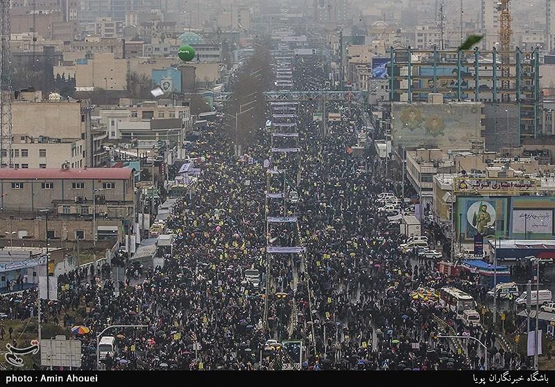 تقدیر شورای هماهنگی تبلیغات اسلامی از حضور پرشکوه مردم در راهپیمایی 22بهمن