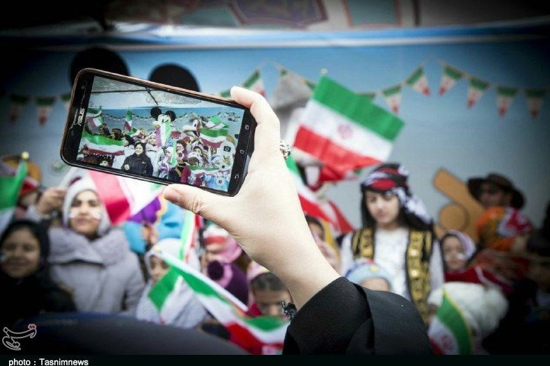 سمنان| مردم دیار قومس در 40 سالگی انقلاب خوش درخشیدند+فیلم