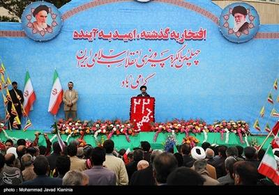 سخنرانی حجتالاسلام محمدحسن ابوترابیفرد در راهپیمایی چهلمین سالگرد پیروزی انقلاب اسلامی ایران در کرمان