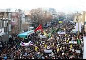 حماسه مردم استان مرکزی در راهپیمایی 22 بهمن به روایت تصویر
