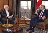 رایزنی ظریف با رئیس مجلس لبنان