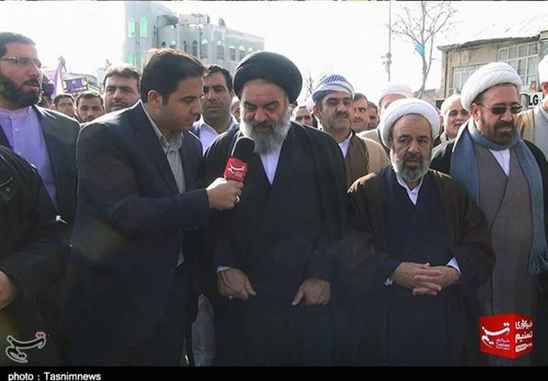 آیتالله حسینیشاهرودی: ملت ایران ترسی از توطئهها و حیلههای دشمنان ندارد+فیلم