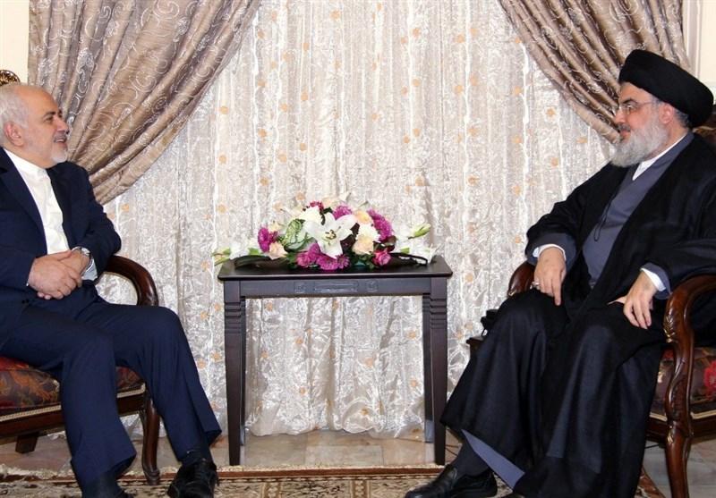 سید حسن نصرالله در دیدار با ظریف: حمایتهای ایران از لبنان و مقاومت به تحقق پیروزیها انجامید