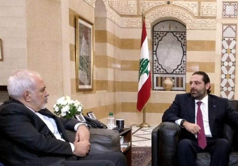 دیدار ظریف با نخست وزیر لبنان