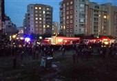 سقوط بالگرد نظامی در استانبول