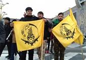 حضور پررنگ رزمندگان فاطمیون در چهلمین سالگرد پیروزی انقلاب+عکس