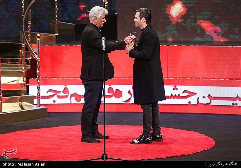 اهداء سیمرغ بلورین بهترین بازیگر نقش اول مرد سیوهفتمین جشنواره فیلم فجر به هوتن شکیبا برای فیلم «شبی که ماه کامل شد»