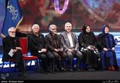 هیأت داوران در مراسم اختتامیه سیوهفتمین جشنواره فیلم فجر