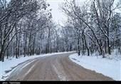 بارش برف و باران در جادههای 11 استان