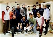 معاینه ملیپوشان فوتبال ساحلی در فدراسیون پزشکی ورزشی